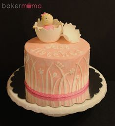 children's cakes Fancy Cakes, Cute Cakes, Yummy Cakes, Christening Cake Girls, Christening Cakes, Beautiful Cakes, Amazing Cakes, Fondant Cakes, Cupcake Cakes