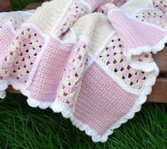 Sweet Dreams Baby Blanket from Etsy