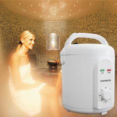 Máquina generador sauna de vapor portátil sauna baño de vapor sauna de infrarrojos de oxígeno de ionizer Del Envío libre