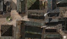 Cramped City Streets by hero339.deviantart.com on @deviantART