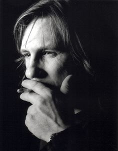Gerard Depardieu by Greg Gorman