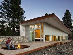 Exterior Modern cabin