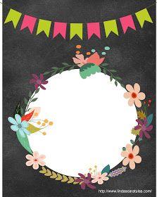 Caratulas Jovenes: Caratulas Vintage Diy And Crafts, Paper Crafts, Borders And Frames, Mexican Party, Ideas Para Fiestas, Binder Covers, Decoupage, Backdrops, Clip Art