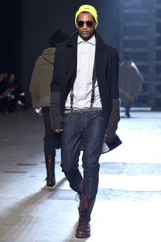 michael bastian - fall 2013 menswear - new york [suspenders]