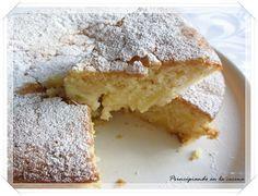 PRINCIPIANDO EN LA COCINA: Bizcocho de manzana y limón
