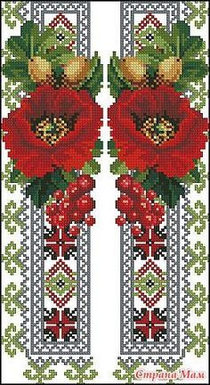 This Pin was discovered by Еле Cross Stitch Bookmarks, Cross Stitch Rose, Cross Stitch Borders, Cross Stitch Flowers, Cross Stitch Charts, Cross Stitch Designs, Cross Stitching, Cross Stitch Patterns, Needlepoint Patterns