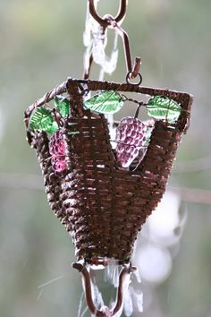 Rain chains - A lovely zen alternative to downspouts.