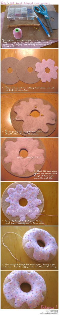 awesome diy donut! i totally love it!
