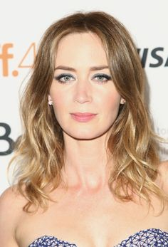 Emily Blunt at the 2015 Toronto premiere of 'Sicario'. http://beautyeditor.ca/2015/09/22/tiff-2015