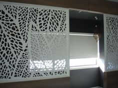 Screen Art Privacy Screens - residential upper level entrance from stairs.  http://www.screenart.net.au