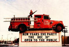 The Fire Alarm Lounge. (Gone.) Cicero Illinois USA. January 1986.  I was in a break dancing battle here once.