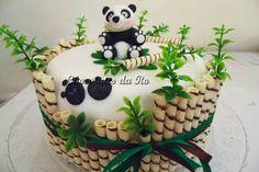 Panda Bear Cake, Bolo Panda, Panda Cakes, Bear Cakes, Panda Birthday Cake, First Birthday Cakes, Cupcakes, Cupcake Cakes, Panda Baby Showers
