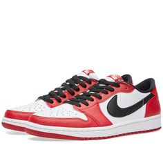 new product e985e a6eb1 Nike Air Jordan 1 Retro Low OG (Varsity Red, Black   White)