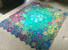 I put the pedal to the metal this week and got all my rows sewn together on my One-Block Wonder quilt. I have to admit, I'm in love with t. Flag Quilt, Tie Quilt, Shirt Quilt, Star Quilts, Quilt Blocks, Circle Quilts, Happy 11th Birthday, One Block Wonder, Quilt Block Patterns