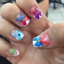 Image result for sailor moon nails Sailor Moon Nails, Image