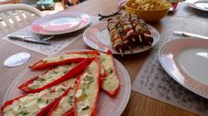 Kuracie ražniči • recept • bonvivani.sk Tacos, Mexican, Ethnic Recipes, Den, Food, Red Peppers, Essen, Meals, Yemek