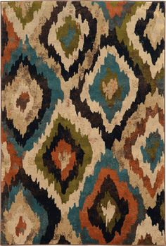 Although Emerson as priced is a tremendous value, there is a flamboyance in its color with vivid accents of tomato red, pumpkin, orange, turquoise blue, and bright acid green pop against the bold black, earthy brown, neutral gold, and ivory in the palette.
