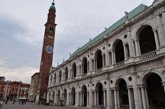 Basilique Palladienne (XVIe) et Tour du Bissani (XIIe), piazza dei Signori, Vicence, province de Vicence, Vénétie, Italie. | Flickr - Photo Sharing!