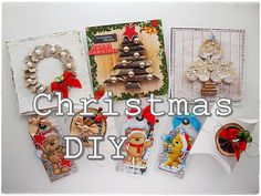 Marta Lapkowska: Christmas projects summary + VIDEO tutorials