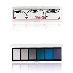 MAC Toledo - Moodyblu: Eye Shadow x 6