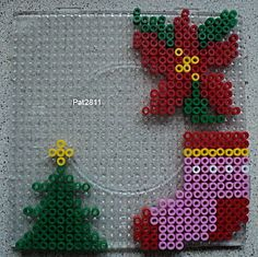 #Christmas #ornaments #hama beads // julestjerne i perler