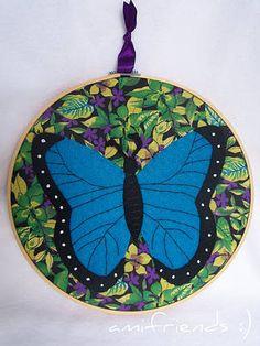 butterfly hoopla