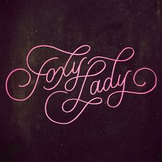 I Love Ligatures / Foxy Lady /  Anna  CF