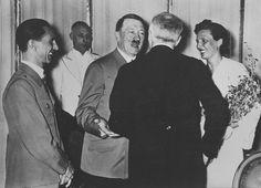 Adolf Hitler e Leni Riefenstahl