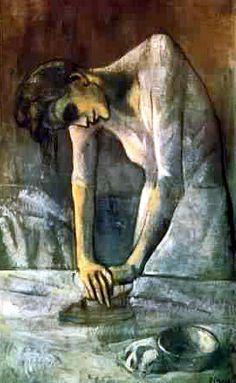 アイロンをかける女 REPASSEUSE 熨烫衣服的女人(1904)