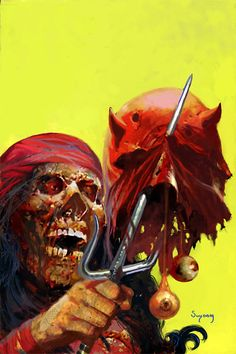 Marvel Zombies Classic Cover Recreations by Arthur Suydam