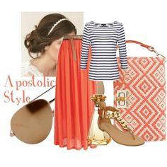 Summer Style Cute N Cazh..:P Apostolic Style ...