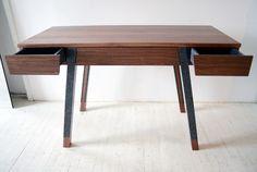 ICFF '12. Desk by Vonnegut Kraft