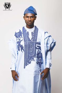 Whether we are called Yoruba demons or angels, one thing is certain, the average Yoruba man's native style rocks! Is it the quintessential agbada- whether. African Inspired Fashion, African Print Fashion, Africa Fashion, African Prints, Nigerian Outfits, Nigerian Dress, African Attire, African Wear, African Outfits