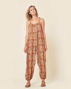 The Bobbi Jumper   Tan Print