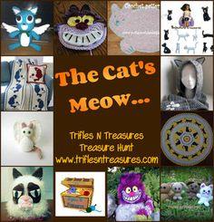 The Cat's Meow Treasure Hunt... - Trifles & Treasures