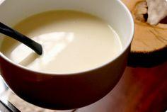 Thermomix, crema de esparragos blancos