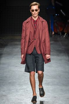 Harrington | Oliver Spencer Spring 2016 Menswear - Collection - Gallery - Style.com