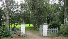 Indgangen til parken, Bråskovgård, Hornsyld