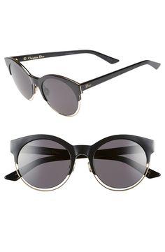 64e7dd23485 Dior Siderall 1 53mm Round Sunglasses
