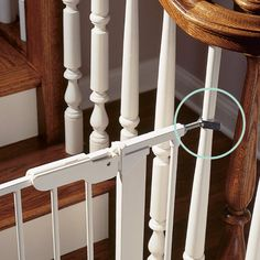 This is the answer to my baby gate/open staircase problem...Y Spindles 2-Pack