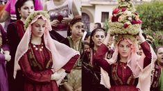 Mediterranean People, Crown, Costumes, Traditional, Fashion, Moda, Corona, Dress Up Clothes, Fashion Styles