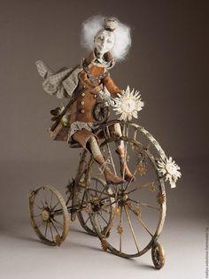 """OOAK Art Doll / Коллекционная кукла """"Небесный почтальон"""" — работа дня на Ярмарке Мастеров"""