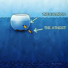 Maybe if we draw them a picture. They will see themselves as the chosen ones! This is what happens when you don't have control of your own faculties! Atheist Religion, Atheist Agnostic, Atheist Humor, Secular Humanism, Losing My Religion, Athiest, Religious People, Twisted Humor, Christianity