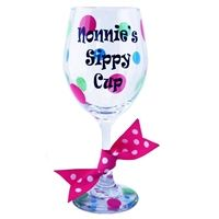 Nonnies Sippy Cup Wine Glass -  $16.99