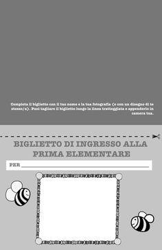 Un libro per salutare la scuola dell'infanzia – Olimpia Ruiz di Altamirano Symbols, Letters, Book, Letter, Lettering, Glyphs, Calligraphy, Icons