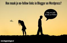 Hoe maak je no-follow links in Blogger en Wordpress?
