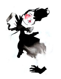 Fashion illustration // Amelie Hegardt