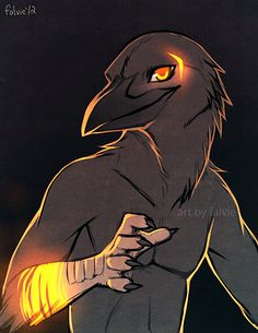 OMG I LOVE IT *Nose bleed I love Crows and Ravens, one of my favorite Fursonas are a Crow