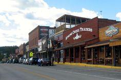 Hill City main street (2009)