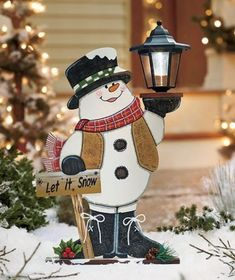 Snowman-Solar-Light-Lantern-Porch-Outdoor-Driveway-Christmas-Decor-Party-Winter